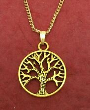 Tree of Life Necklace New Charm Pendant and gold plated chain family