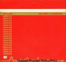CHAPPELL RECORDED MUSIC LIBRARY jingles volume 2 classical CHAP 118 LP PS EX+/EX