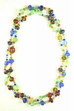 FUNKY LADIES BOHO STYLE STATEMENT BEADED LONG FASHION NECKLACE (ZX2)