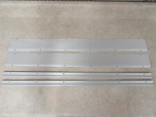 Porsche 914 stainless steel threshold and carpet strip set best in the business