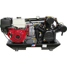 Puma TUK-130HGE 13-HP Tankless Gas-Powered Two-Stage Truck Mount Air Compressor