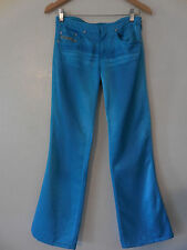 Sz.26 Diesel Women Satin  Blue Jeans Rn#93243 Cotton/Viscoza - ( Made in Italy)