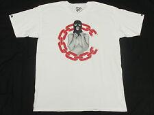$30 NWT NEW Mens Crooks & Castles T-Shirt Chain C Ceason Tee White 3XL XXXL M392