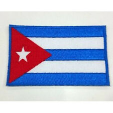 Cuba Flag Embroidered Sew/Iron On Patch Patches