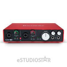 Focusrite Scarlett 6i6 6 In/ Out USB 2.0 Audio Interface w/2 Mic Preamps 2nd Gen