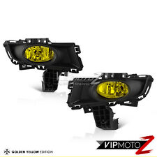 JDM Golden Yellow Fog Light Lamp+Wiring+Realy+Bulb+Cover 07-08 Mazda 3 Sedan 4DR