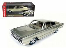 AUTO WORLD 1/18 1966 DODGE CHARGER 50TH ANNIVERSARY DIECAST CAR AMM1067 LIMITED