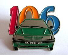 France: Insigne PINS voiture PEUGEOT 106 , voir photo.
