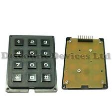 Matrix numeric/alarm keypad/keyboard/key Diy entrada sistemas
