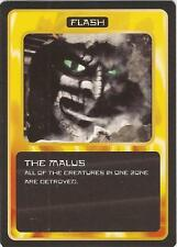 """Doctor Who MMG CCG - Flash """"The Malus"""" Card"""