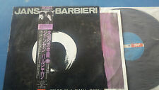 Jansen Barbieri Worlds in a small room Japn Import with OBI LP Good