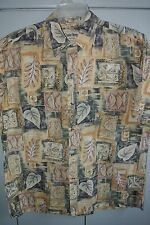 Cooke St  Large  Collage of Floral & Tapa Squares on Yellow/Nice