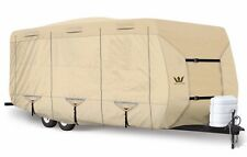 S2 Expedition Premium Travel Trailer RV Cover - fits 25' - 26' Length TAN