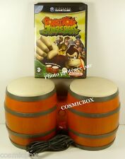 GameCube jeu DONKEY KONG JUNGLE BEAT + BONGOS compatible console Nintendo Wii gc