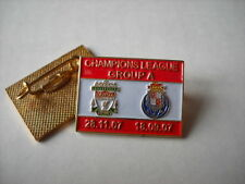 a1 PORTO - REDS cup uefa champions league 2008 spilla football pin