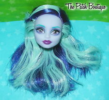 MONSTER HIGH TWYLA BOOGEYMAN COFFIN BEAN DOLL REPLACEMENT HEAD ONLY GR84 OOAK