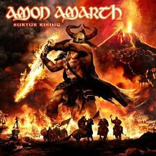 AMON AMARTH SURTUR RISING BRAND NEW SEALED CD + DVD SET 2011