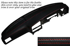 RED STITCH DASH DASHBOARD LEATHER COVER FITS TOYOTA HILUX 4 RUNNER 89-95