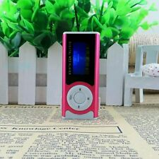 Portable Red Hot Shiny Mini USB Clip LCD Screen MP3 Media Player 16GB Micro