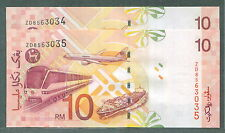 Rm 10 Zeti replacement ZD 8563034 - 35 cons pair unc