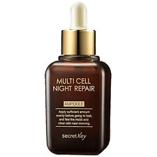 [SECRET KEY]  Multi Cell Night Repair Ampoule / Korea cosmetic