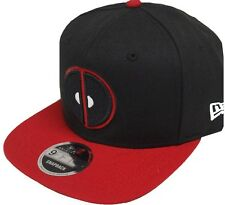 New Era Deadpool Noir-rouge Marvel Comics Casquette Snapback 9fifty