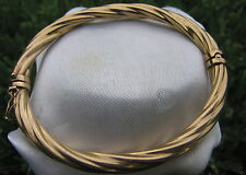 9K 9CT YELLOW  SOLID GOLD STAMPED   *WILL POST IT*   BRACELET BANGLE