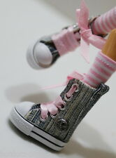 Custom Sneakers Shoes For Blythe/ Pullip/Monster High/Lalaloopsy/Dal SN335,Denim