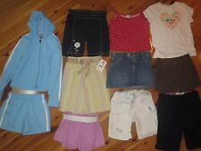 Girls XS 4-5 Lot 11 Items Gymboree Osh Kosh Champion Disney Jumping Beans Hoodie