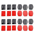 12Pcs Helmet Accessories Flat Curved Adhesive Mount For Gopro Hero 1/2/3 /3+