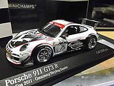 PORSCHE 911 997 GT3 R 24 Spa 2011 #75 GrafiWrap Goossens Soulet Minichamps 1:43