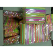 Spoon Straws 2000 for slush syrup, for, slush machine,  plastic straws new