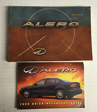 2000 Oldsmobile Alero Owner's Manual with Quick Reference Guide
