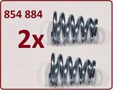 2 Stück Opel Auspuff  Feder  854 884 für Ø12mm Schraube M8