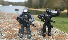 MEGA BLOKS 06824 CALL OF DUTY NAVY SEAL Micro Figures # 4 & 5!!!