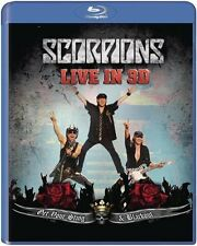 SCORPIONS: GET YOUR STING & BLACKOUT, Live in 3D (Blu-ray 3D) NEU+OVP