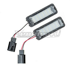 VW License Number Plate Light 18 LED Lamps Replace OEM Assembly Holder Canbus