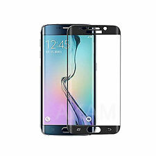 Curved Tempered Glass LCD Screen Protector Black 3D Samsung Galaxy S6 Edge Plus