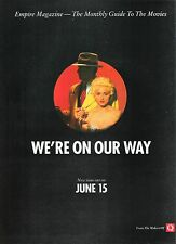 MADONNA Dick Tracy UK magazine ADVERT/Poster/clipping 11x8 inches
