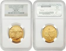 Germany 2004-D Unesco Heritage Site Bamberg 100 Euro Gold NGC MS-70