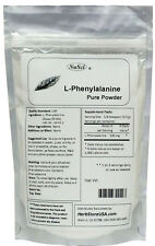 L-Phenylalanine pure powder 100g (3.52oz) healthy mental energy mood weight