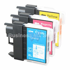 3 COLOR LC61 Ink for Brother MFC-J630W MFC-J615W MFC-J415W MFC-J410W MFC-J270W