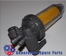 Inline fuel filter assembly with stop tap L100, 186F for yanmar