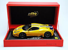 BBR 2014 Ferrari 458 Speciale A Closed Paris Show 2014 Yellow LE of 99 1/18 New!