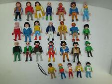 Vintage 1974-1993 PLAYMOBIL GEOBRA People Figures Lot of 27+ Pieces