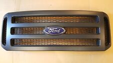 05 06 07 05-07 Ford Matte black Grille Grill F250 F350 F450 Excursion 05 Only