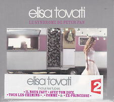 CD DIGIPACK 14T ELISA TOVATTI feat TOM DICE LE SYNDROME DE PETER PAN NEUF SCELLE