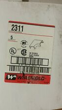 WIREMOLD 2311 90D FLAT ELBOW (QTY 5)