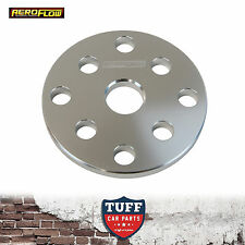 """Aeroflow Gilmer Pulley Water Pump Spacer 6mm 1/4"""" for Small Block Chev 283 307"""