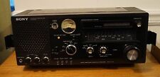 Sony Model ICF-6700W FM/AM Multi Band Receiver Short Wave Dual Conversion